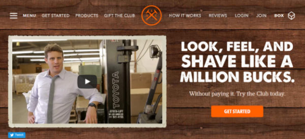 Dollar Shave Club founded by Michael Dubin