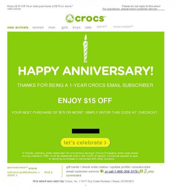 Crocs-Anniversary-Email-1