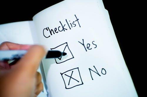 PPC Task Checklist