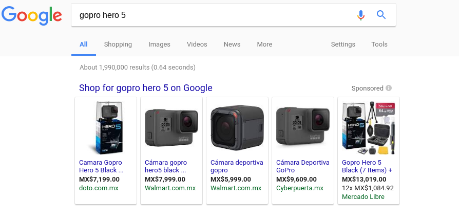 Setup Google Shopping