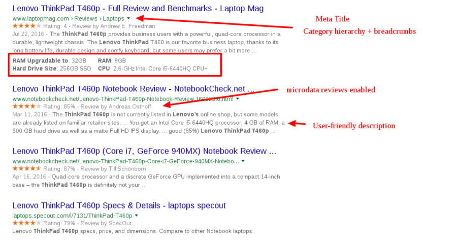 eCommerce-SERP-results-search
