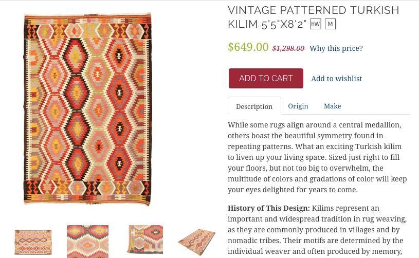 vintage patterned
