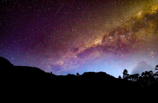night in Tasmania